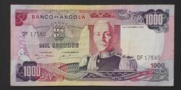 ANGOLA  1000  ESCUDOS  1972     -    (Nº03456) - Angola