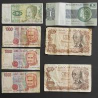 LOTE 7 BANKNOTES   -    (Nº03462) - Lots & Kiloware - Banknotes