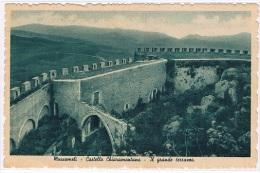 B1720 - Mussomeli - Castello Chiaramontano - Il Grande Terrazzo - Caltanissetta