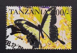 Tanzania / 1999 / Mi 3310 / Used  / Butterfly - Tanzania (1964-...)