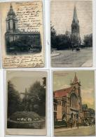 UK POSTCARD - COWES -LONDON - MATLOCK -EASTBOURNE -LIVERPOOL -CRICKLEWOOD -  20 POSTCARDS - 1901-1904-1905 -1911-1917... - Postcards