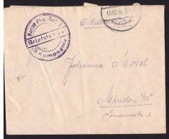 1918  Marinepostbrief - Deutschland