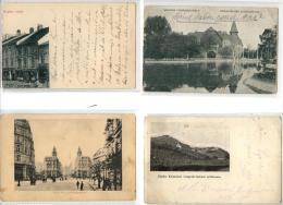MAGYAR - HONGRIE - 8 POSTCARD - 1906 - 1910 - 1915 - 1921 - 1924 ... - Hungary