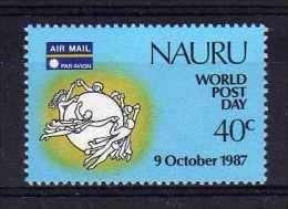 Nauru - 1987 - World Post Day - MNH - Nauru