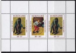 2332. Suriname, 1971, For The Child, Block, MH (*) - Surinam ... - 1975