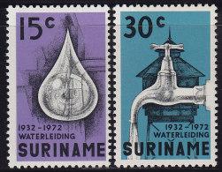 2331. Suriname, 1972, Waterworks, MH (*) - Surinam ... - 1975