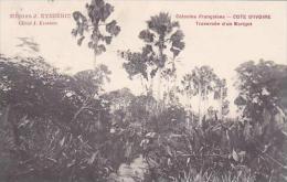Cote D'Ivoire Ivory Coast Traverse D'un Marigot 1911 - Ivory Coast