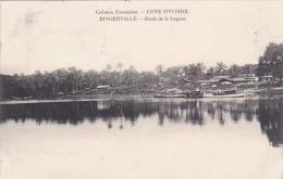 Cote D'Ivoire Ivory Coast Bords De La Lagune 1911 - Ivory Coast