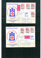 Jugoslawien / Yugoslavia 1989 Red Cross / Rote Kreuz Sehr Seltene 2 Postkarten / Scarce 2 Postcards - 1945-1992 Socialist Federal Republic Of Yugoslavia