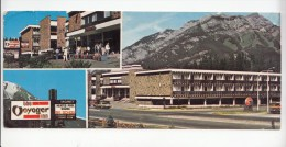 ZS42758 Banff S Voyager Inn Your All Seson Hotel 20x6 Cm  2   Scans - Banff