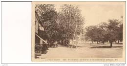 81 - VALENCE - Le Foirail Et La Route De St Affrique - Divisé - Circulé - Edit. POUX ALBI - (CPA 73) - Valence D'Albigeois