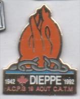 Armée Militaire , ACPG CATM , Anciens Combattants , Dieppe - Army