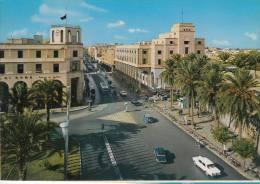 @ LIBIA - TRIPOLI - OMAR EL MUKTAR STREET - AUTO - CAR - Libia