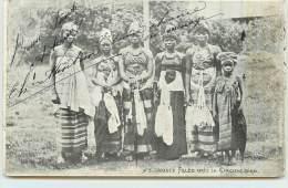 GUINEE  - Jeunes Filles Après La Circoncision. - Guinea