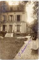 MONTMORENCY - Carte Photo - Villa Molière (Verso) (62136) - Montmorency
