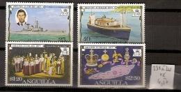 Anguilla 238 à 241  **  Côte 4.50 € - Anguilla (1968-...)