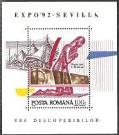Romania 1992 BF Nuovo** - Mi.276  Yv.219 - Blocchi & Foglietti