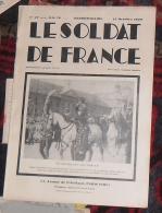 Journal Bimensuel LE SOLDAT DE FRANCE Du 13 Octobre 1934 No 27-Publicité - Journaux - Quotidiens