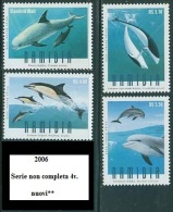 NAMIBIA 2006 - Dolphins Mi.  4v.  Nuovi** Perfetti - Namibia (1990- ...)