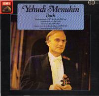 * 2LP *  YEHUDI MENUHIN / BATH FESTIVAL ORCHESTRA - BACH (Holland 1971 EX!!!) - Klassiekers