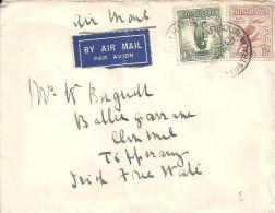 AUSTRALIE - Lettre  - N°88 - N°93 - Paons