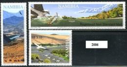 NAMIBIA 2006 - Rivers Fleuve Orange Oiseau Aigle Pecheur Poisson Serie Cpl. 3v.  Nuovi** Perfetti - Namibia (1990- ...)