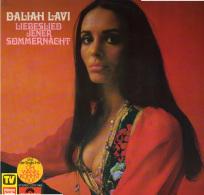 * LP *  DALIAH LAVI - LIEBESLIED JENER SOMMERNACHT (Germany 1970 EX-!!!) - Vinylplaten