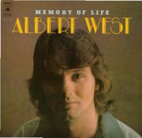 * LP *  ALBERT WEST - MEMORY OF LIFE (Holland 1976 EX-!!!) - Disco, Pop