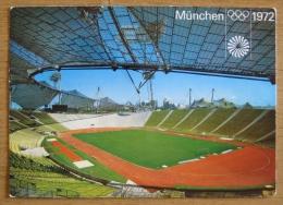 Germany Deutschland - Munich München - Olympiastadion Olympic Stadium Olympic Games 1972 Stadium - Stades