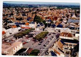 CP De St Amand Montrond - Vue Aérienne En 1975 - Saint-Amand-Montrond