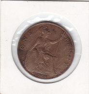 ONE PENNY 1914 - 1902-1971 : Monete Post-Vittoriane