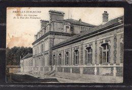 42752   Francia,   Romilly-sur-Seine  -  Ecole  Des  Garcons  De La  Rue  Des  Fontaines,  NV(scritta) - Romilly-sur-Seine