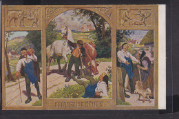 Märchen Postkarte Paul Hey : Hans Im Glück - Contes, Fables & Légendes
