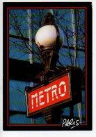 REF 142 : CPM METRO DE PARIS - Métro