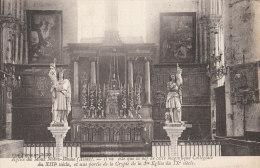 02 MONT Ntre DAME  EGLISE AUTEL Statues ST LOUIS  Jeanne D´ ARC  Il Ne Reste Que La NEF De Cette COLLEGIALE XIII° Siècle - Sin Clasificación