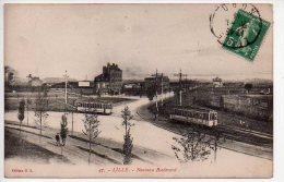 REF 146 : CPA 59 LILLE Nouveau Boulevard Tramway - Lille