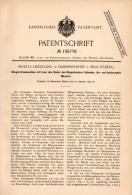 Original Patentschrift - M. Liesegang In Hammersdorf B.Gronowo , 1891 ,  Düngerstreumaschine , Agrar , Braunsberg !!! - Maschinen
