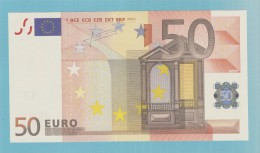 50 EURO BELGIQUE T029A3 UNC - EURO