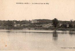 176* VEUVES La Loire Et Vue De Rilly Carte Circulée - Francia