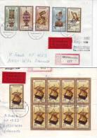 1166f: DDR 1983, Historische Uhren, Seltene Frankaturen, RR, Portogerecht ! - Clocks