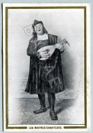 Publicité Maison Charnay (Vienne - Isère) - ´´Les Maîtres Chanteurs´´ (Recto-Verso) (2) - Confiserie & Biscuits