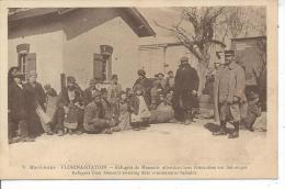 MACEDOINE - FLORINA STATION - Réfugiés De Monastir - Macédoine
