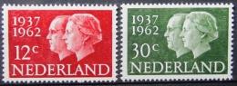PAYS-BAS            N°  745/746              NEUF* - 1949-1980 (Juliana)