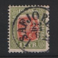 Island - Iceland 1907 - MI. 48 º - 1873-1918 Dänische Abhängigkeit