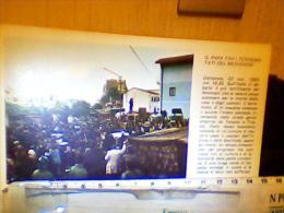 PAPA GIOVANNI PAOLO II WOJTYLA TRA I TERREMOTATI IRPINIA TERREMOTO BASILICATA VISITA  1980 EH2140 - Pausen