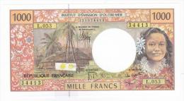 """Polynésie Française / Tahiti - 1000 FCFP - """"NOUVEAUTE"""" / L.053 / 2013 / Signatures Noyer/de Seze/La Cognata - Neuf / UNC - Papeete (Polynésie Française 1914-1985)"""