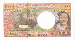 """Polynésie Française / Tahiti - 1000 FCFP / X.049 / 2012 / """"Nouvelles Signatures"""" - Neuf / Jamais Circulé - Papeete (Polynésie Française 1914-1985)"""