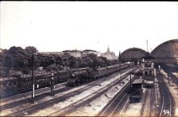 LOCOMOTIVE  ALLEMANDE GARE BR 9301472 PHOTO REPRODUCTION - Eisenbahnen