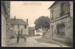 VILLIERS - EN - DESOEUVRE . Le Bureau De Poste Et La Jaillard . - Andere Gemeenten