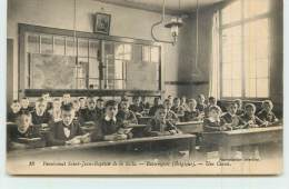 ESTAIMPUIS  - Pensionnat Saint Jean Baptiste De La Salle, Une Classe. - Estaimpuis